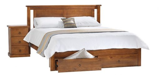 Casey Queen Storage Bed